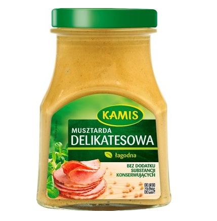 MUSZTARDA DELIKATESOWA - KAMIS 185g