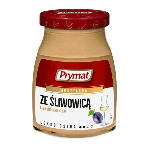 MUSZTARDA ZE ŚLIWOWICĄ - PRYMAT 175g