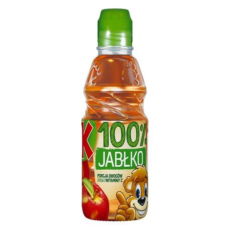 SOK JABŁKOWY 100% - KUBUŚ 300 ml