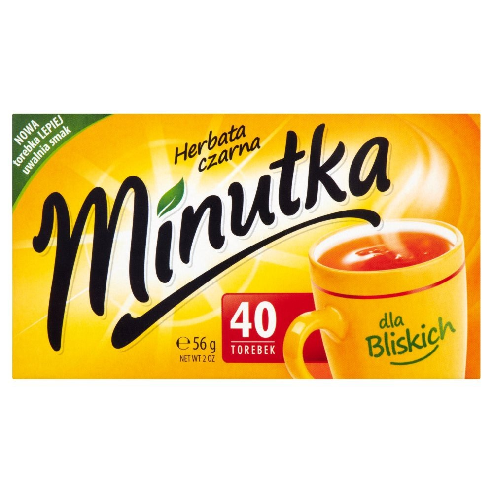 HERBATA CZARNA - MINUTKA 56g