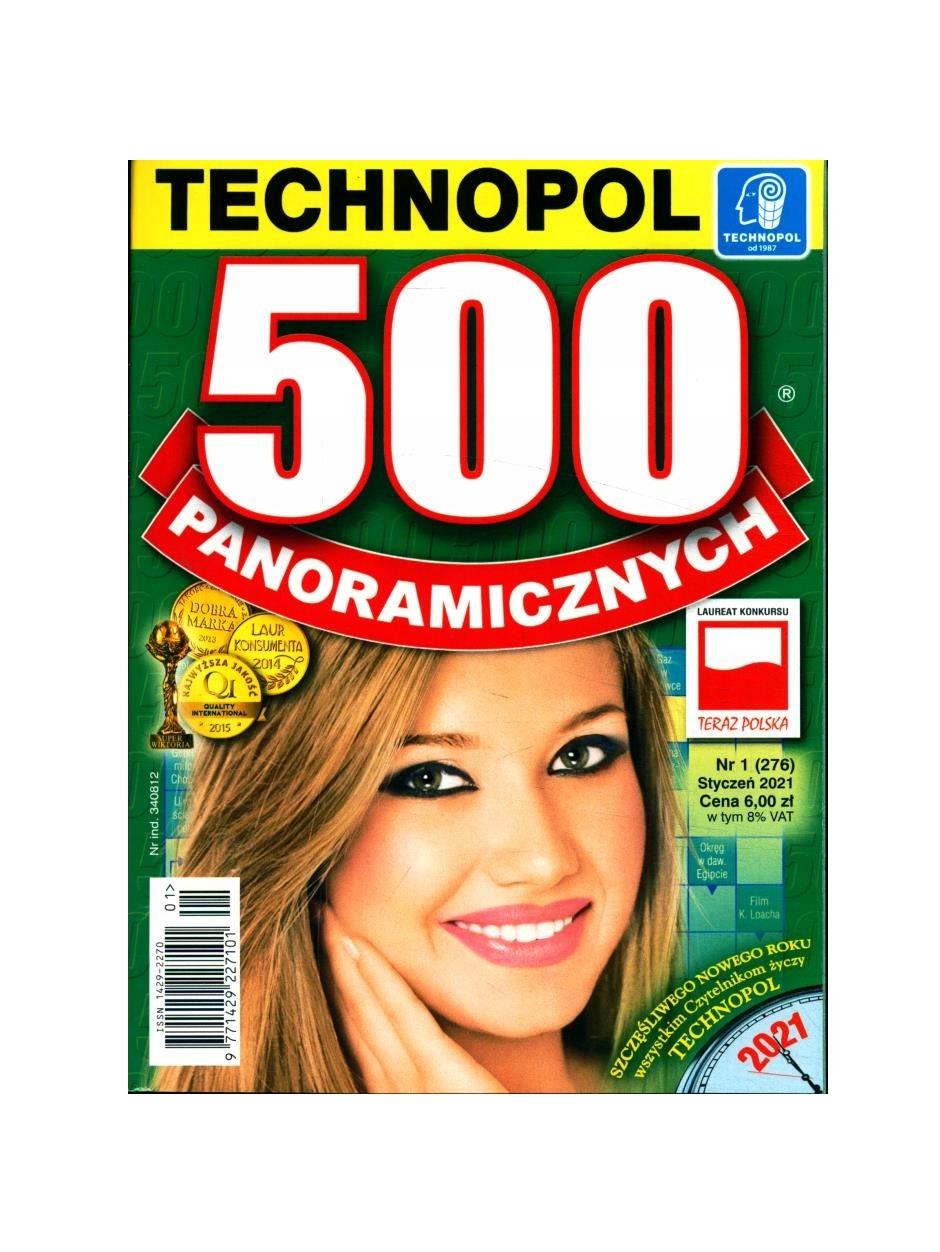 GAZETA 500 KRZYŻÓWEK PANORAMICZNYCH - TECHNOPOL