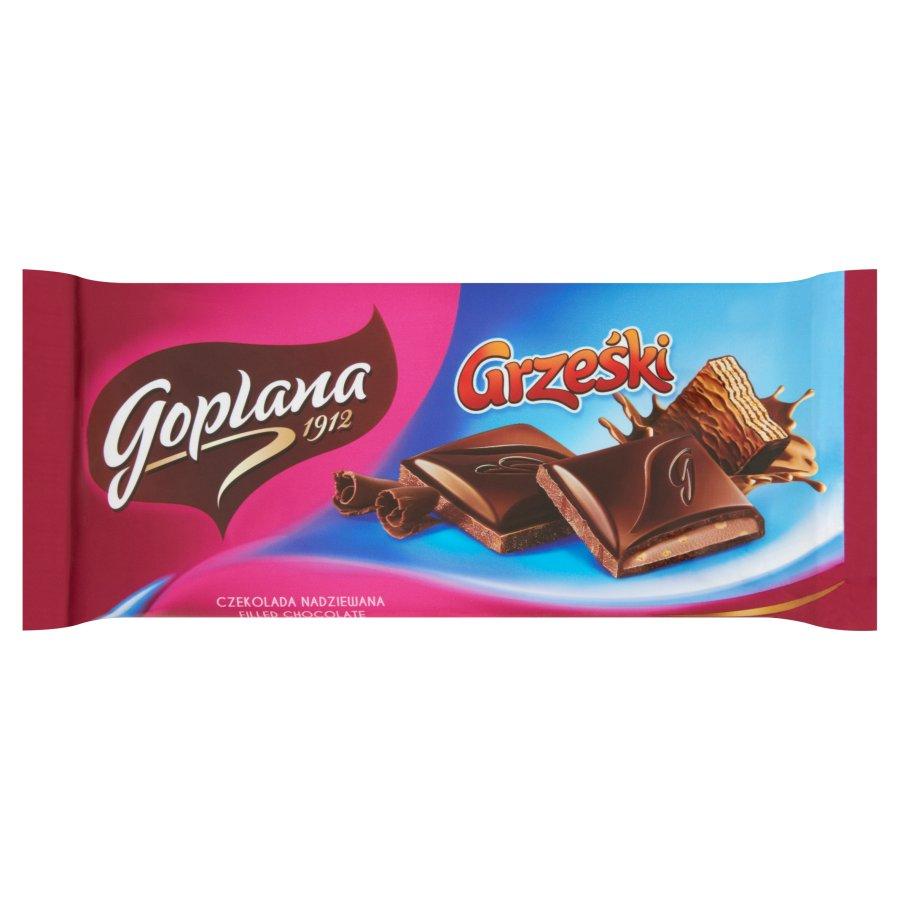 CZEKOLADA GRZEŚKI - GOPLANA 88g