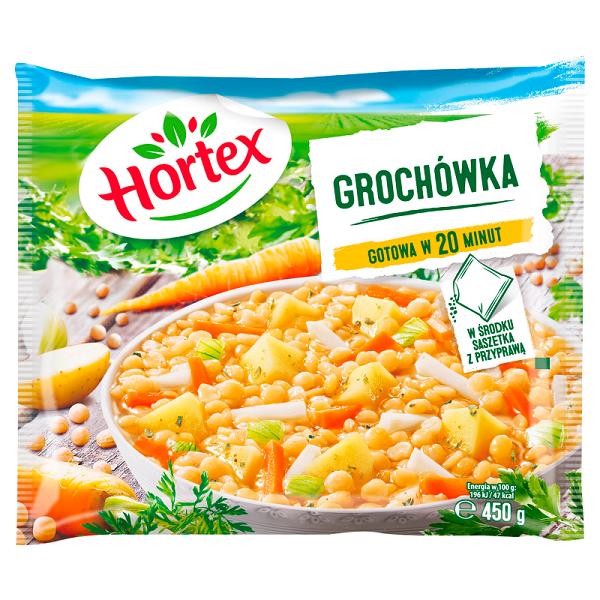 ZUPA GROCHOWA MROŻONY - HORTEX 450g