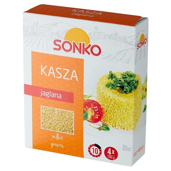 KASZA JAGLANA W SASZETKACH - SONKO 4x100g