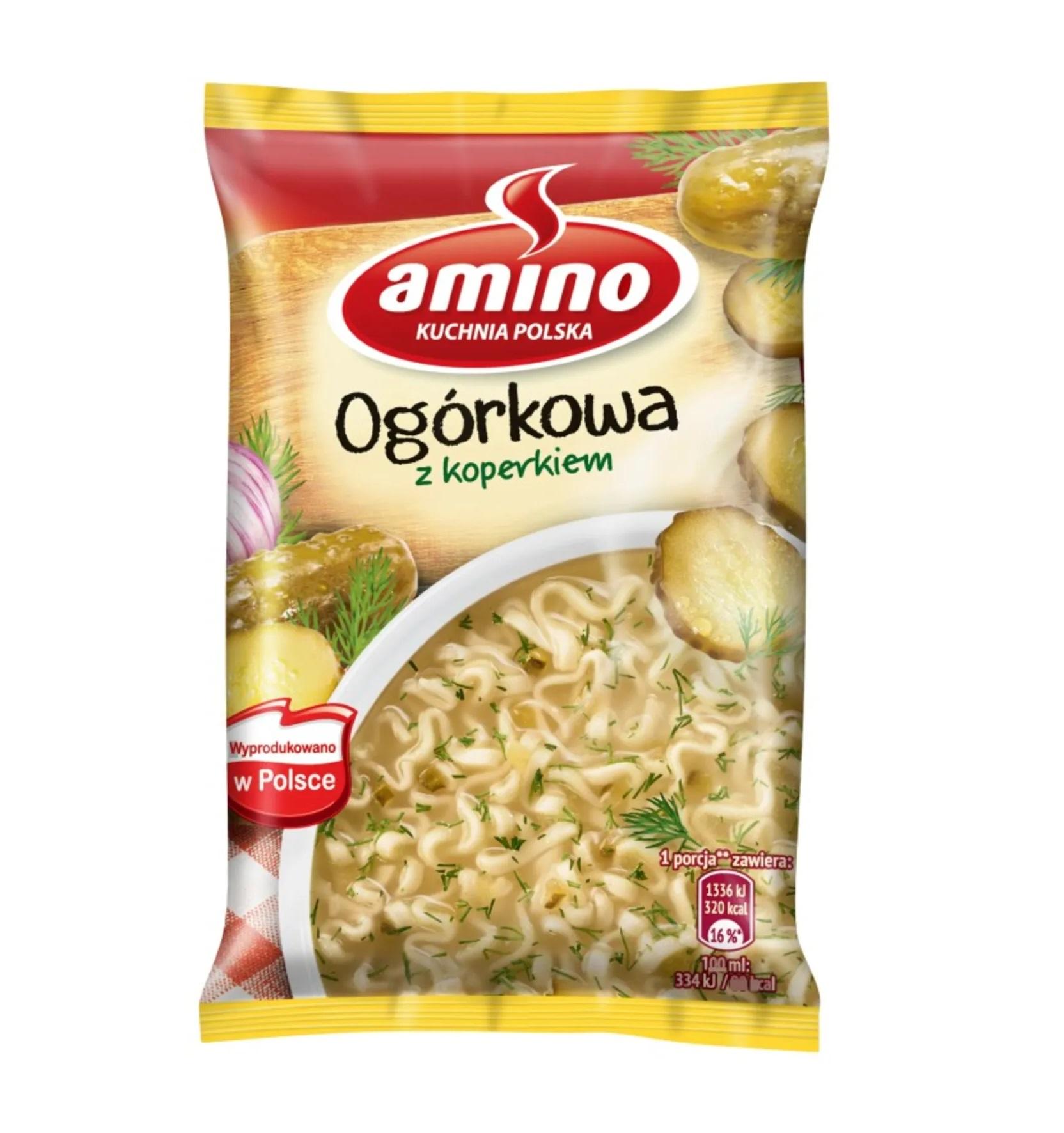 ZUPKA OGÓRKOWA - AMINO 64g