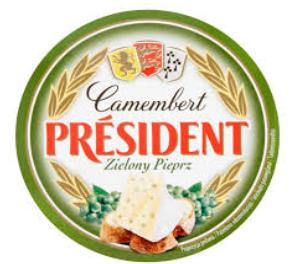 SER CAMEMBERT Z PIEPRZEM - PRESIDENT 120g