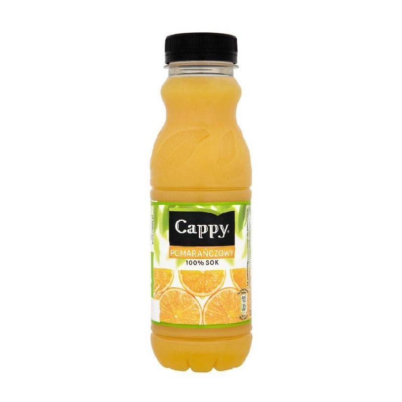 SOK POMARAŃCZOWY - CAPPY 330ml
