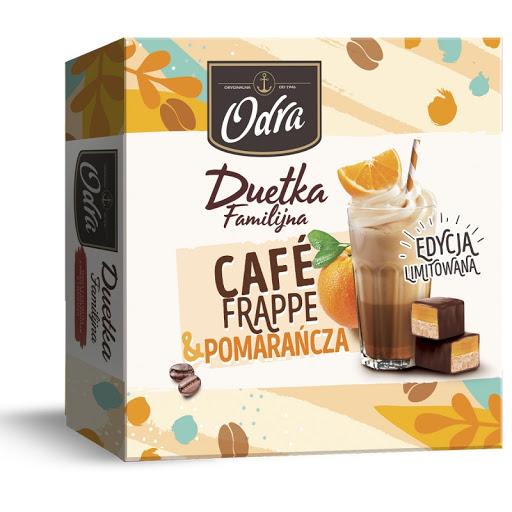 DUETKA FAMILIJNA CAFE FRAPPE POMARAŃCZOWA - ODRA 420g