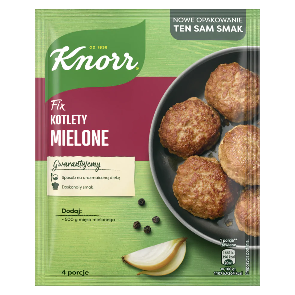 FIX KOTLETY MIELONE - KNORR 64g