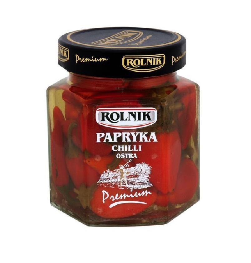 PAPRYKA CHILLI OSTRA - ROLNIK 314ml