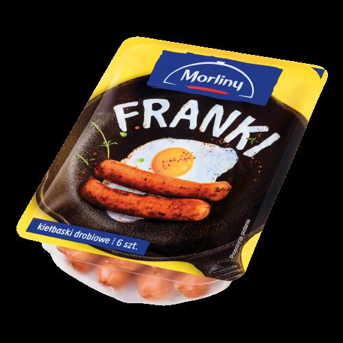 KIEŁBASKI DROBIOWE FRANKI - MORLINY 240 g
