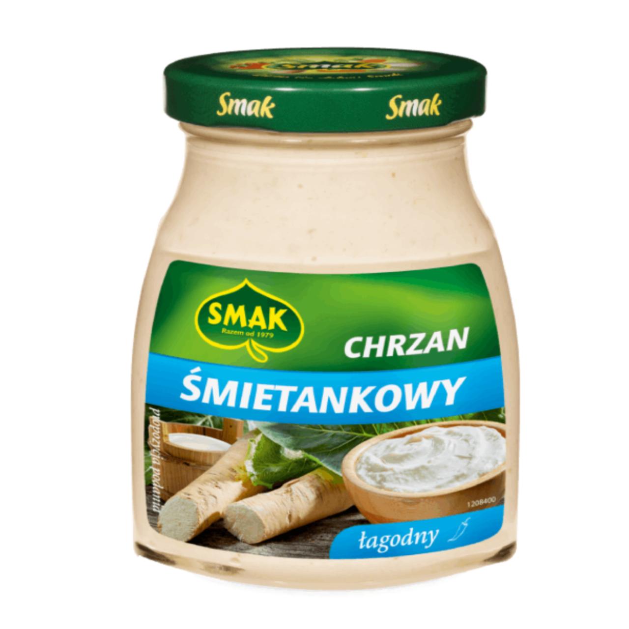 CHRZAN ŚMIETANKOWY - SMAK 175g