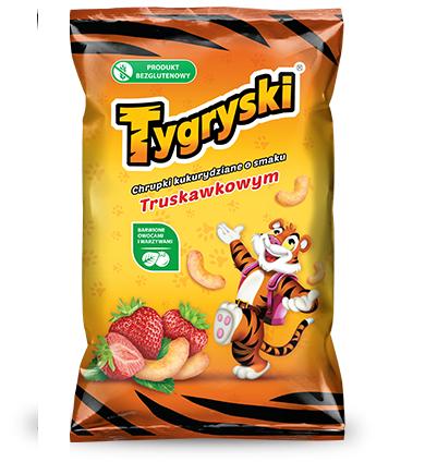 CHRUPKI TRUSKAWKOWE - TYGRYSKI 70G