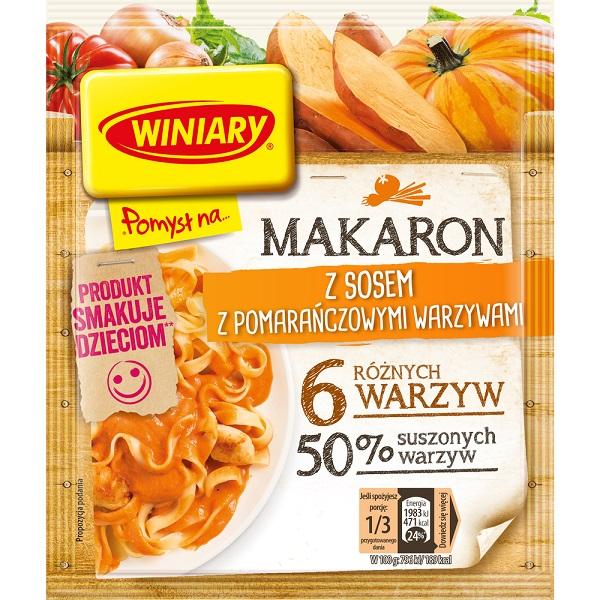 MAKARON Z SOSEM Z POMARAŃCZOWYMI WARZYWAMI - WINIARY 42 g