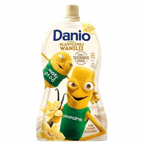 DANIO WANILIOWY W TUBCE - DANONE 140g