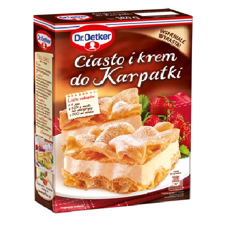 CIASTO I KREM DO KARPATKI - DR. OETKER 380g