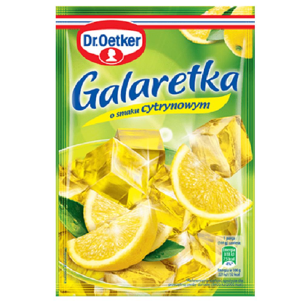 GALARETKA CYTRYNOWA - DR OETKER 77g