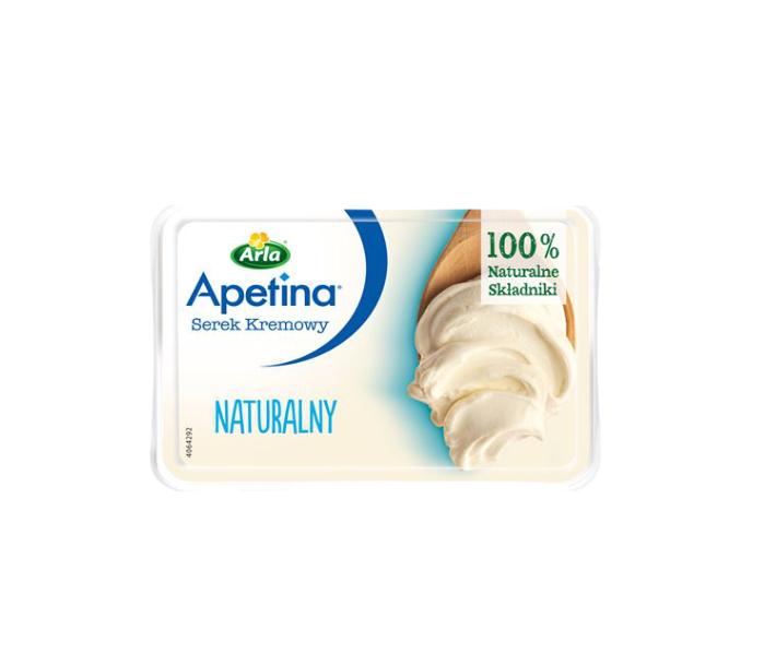 APETINA SEREK KREMOWY NATURALNY - ARLA 125 g