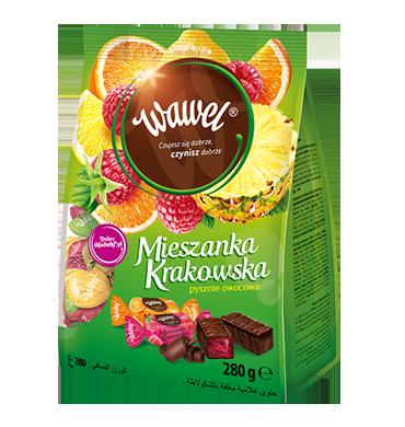 CUKIERKI MIESZANKA KRAKOWSKA - WAWEL 280g