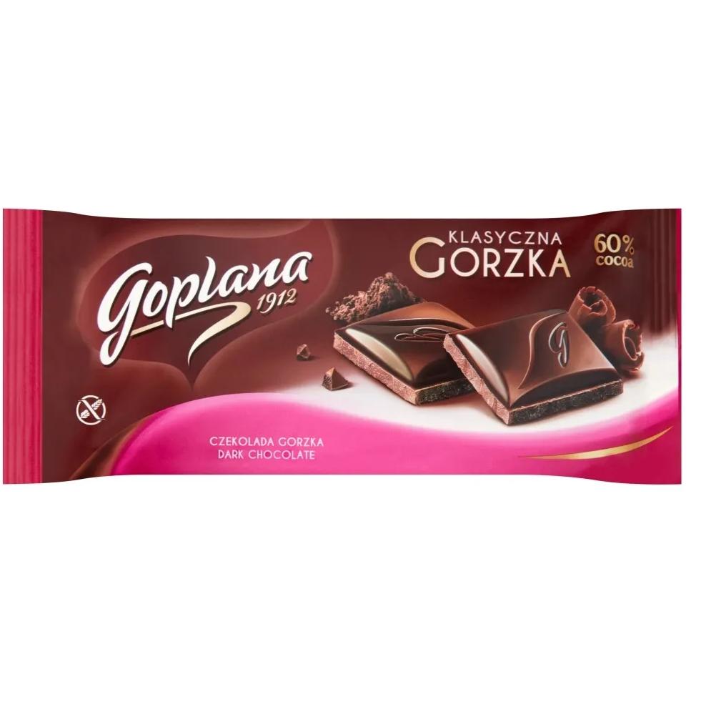 CZEKOLADA GORZKA - GOPLANA 90g