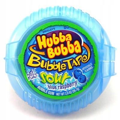 GUMA BALONOWA BLUE RASPBERRY - MINI ROLL ( NIEBIESKA )