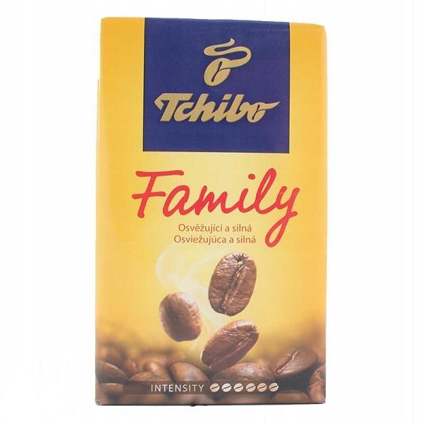 KAWA FAMILY ZÓŁTA - TCHIBO 500g