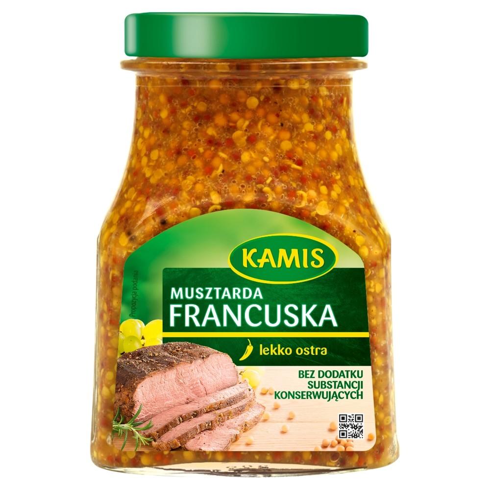 MUSZTARDA FRANCUSKA - KAMIS 185g