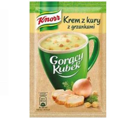 GORĄCY KUBEK KREM Z KURY - KNORR 16g
