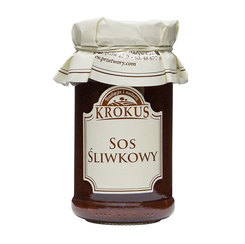 SOS ŚLIWKOWY - KROKUS 235g