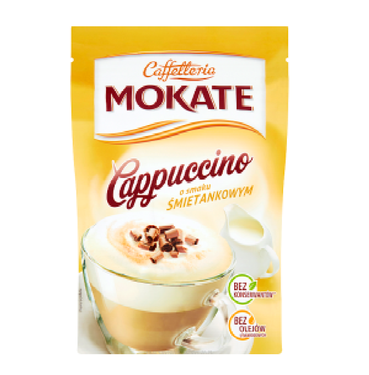 CAPPUCCINO ŚMIETANKOWE - MOKATE 110g