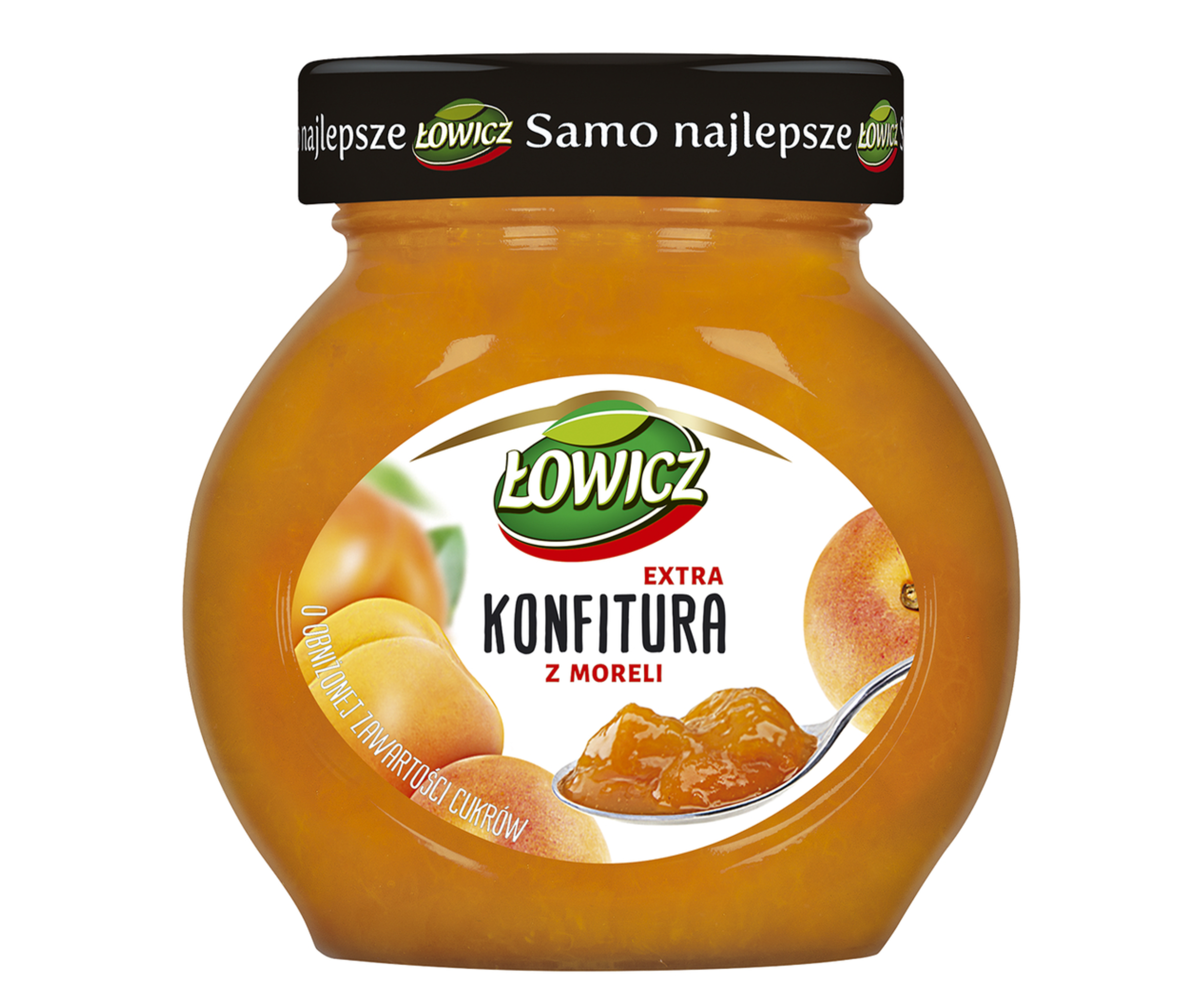 KONFITURA - ŁOWICZ MORELOWA 240g