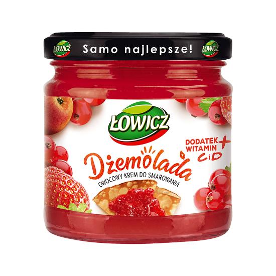 DŻEMOLADA CZERWONA - ŁOWICZ 200 g