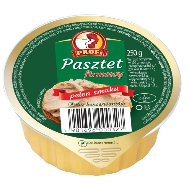 PASZTET FIRMOWY - PROFI 131g