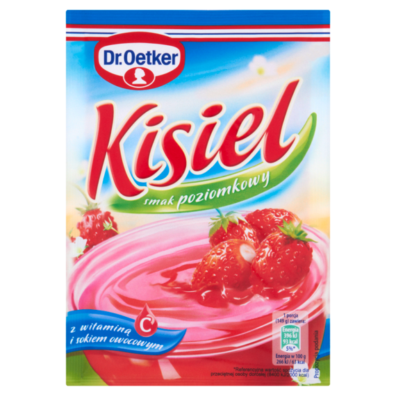 KISIEL POZIOMKOWY - DR OETKER 31g