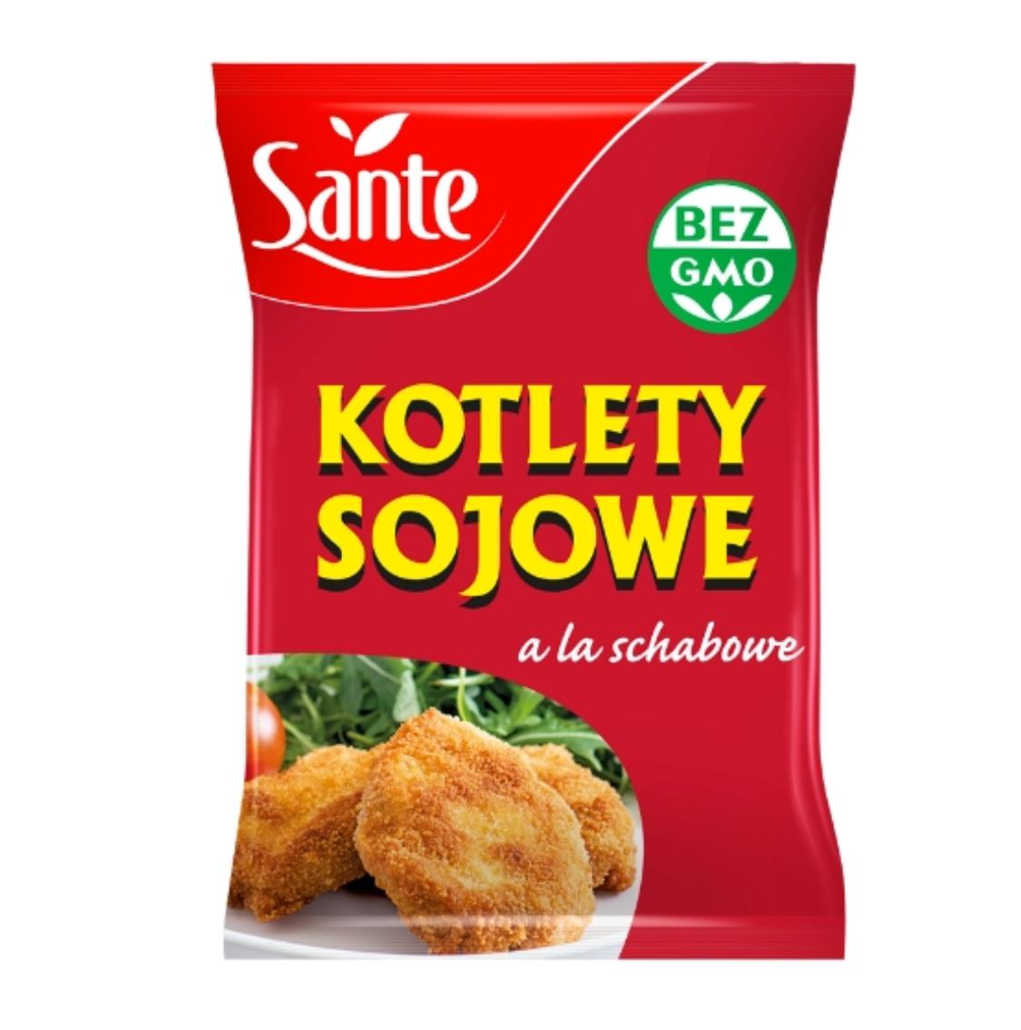 KOTLETY SOJOWE A LA SCHABOWE - SANTE 100g