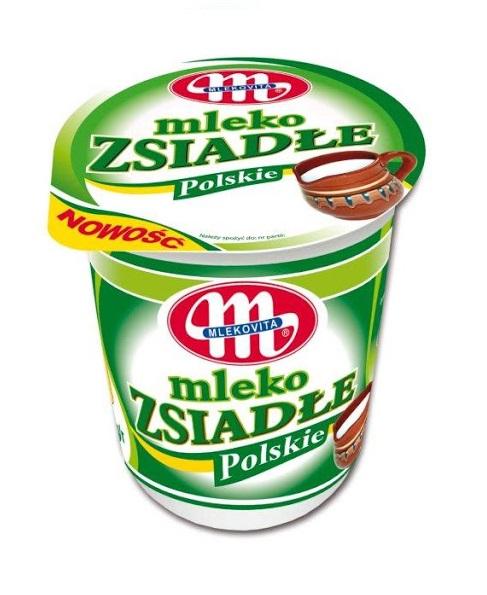 MLEKO ZSIADŁE - MLEKOVITA 370g