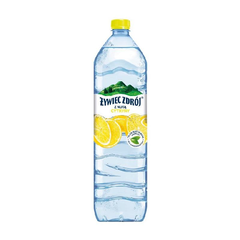WODA Z NUTĄ CYTRYNY - ŻYWIEC ZDRÓJ 1,5l