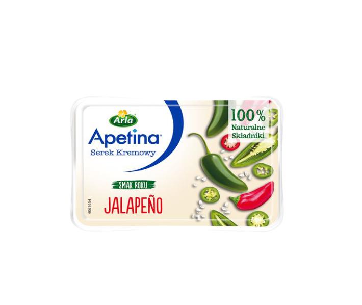 APETINA SEREK KREMOWY JALAPENO - ARLA 125 g